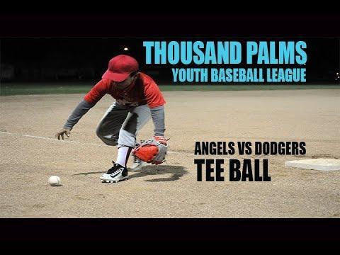 Tee Ball League: Ezekiel's First Game