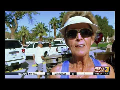 2018 Palm Desert Sr. Games & ISF On KESQ