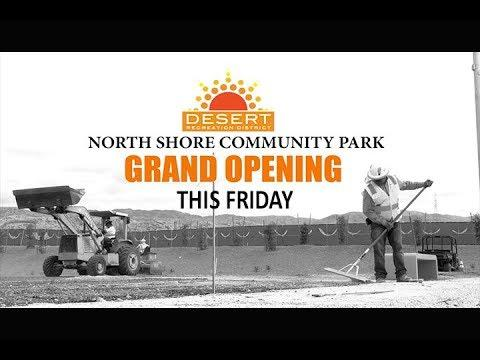 North Shore Park Opens Friday