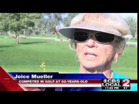 Palm Desert Senior Games 2017 On CBS Local 2 News