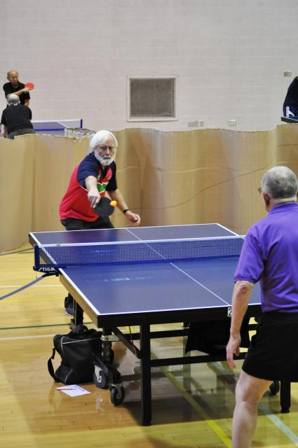 Athletes Competing in Table Tennis