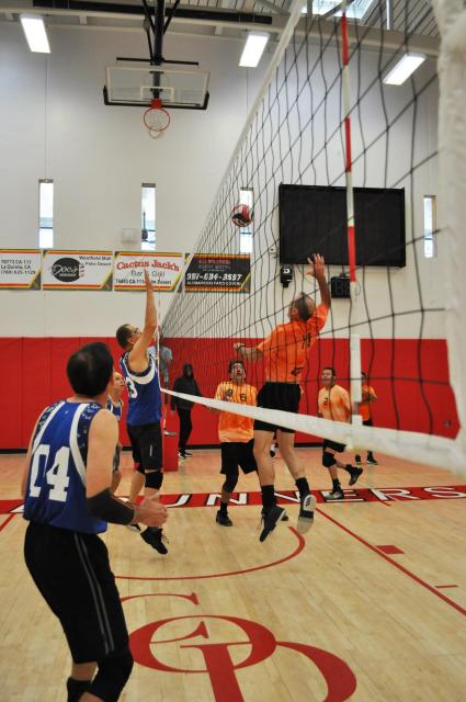 Men's Volleyball Game in Palm Desert