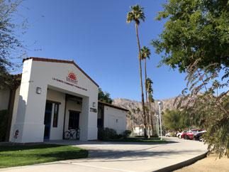 La Quinta Community Center building entrance photo