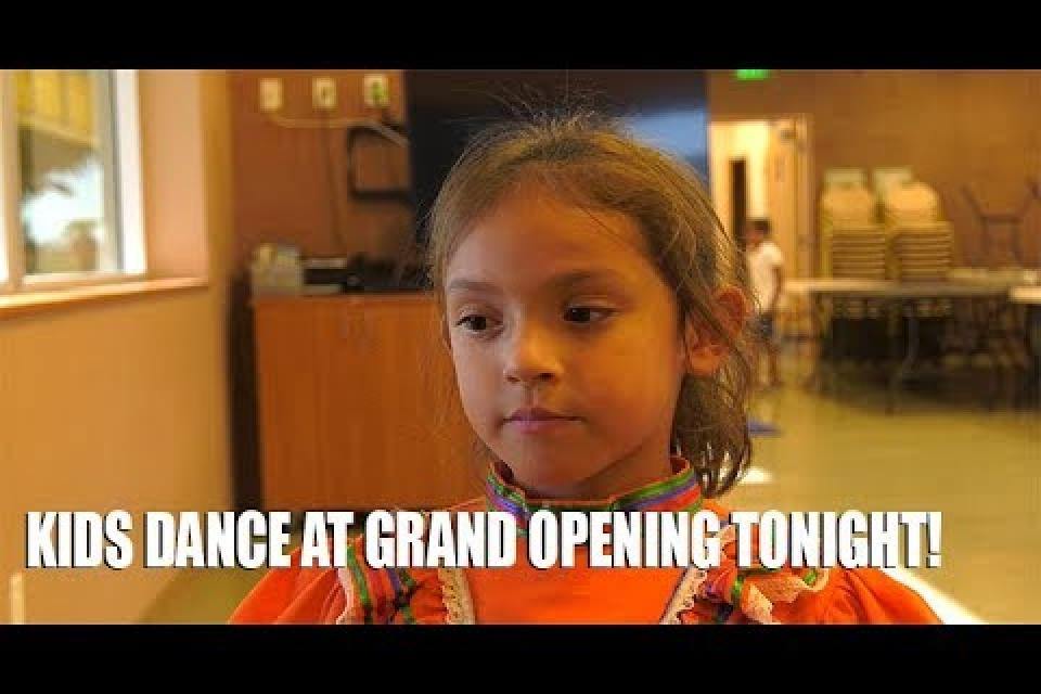 Tonight's Grand Opening Performance by Local Kids!