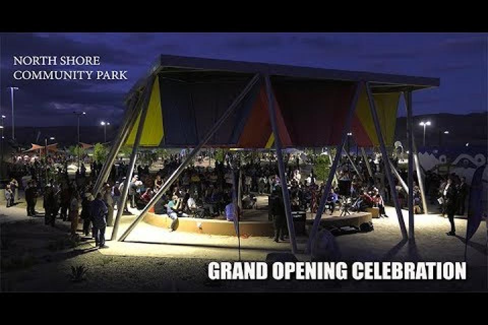 North Shore Park Opening Night