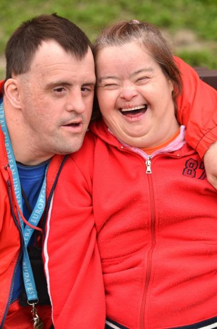 A couple with special needs