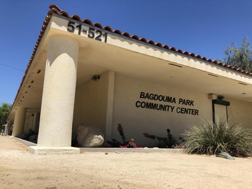 Bagdouma Park Community Center building entrance photo