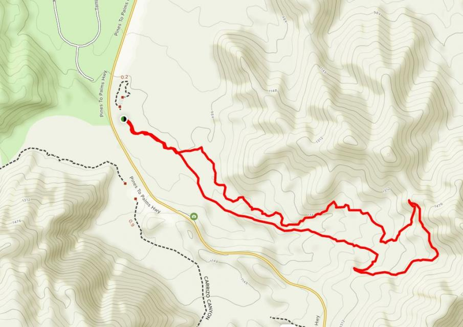 Image of map that  links to trail